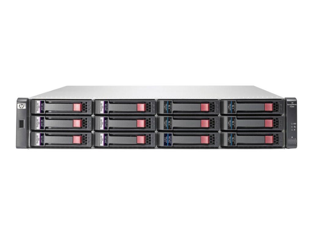 HP StorageWorks P2000 G3 iSCSI DC LFF (BK830B)