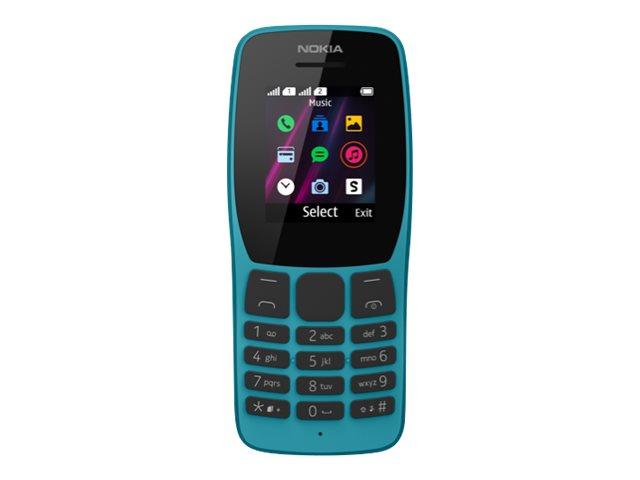 Nokia 110 - Mobiltelefon - Dual-SIM - microSDHC slot