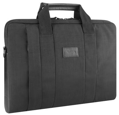 Targus Elegantes schwarzes Notebook-Case - City elegantes Notebook-Slipcase