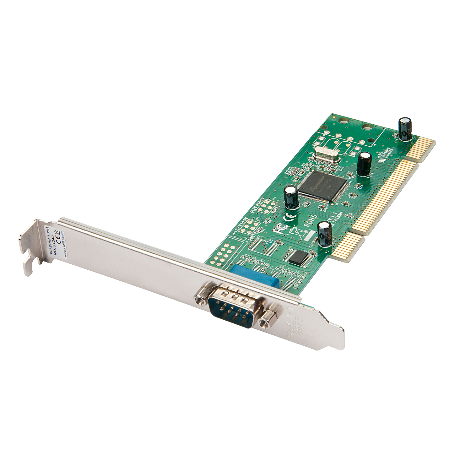 Lindy Serieller Adapter - PCI - RS-232 x 1