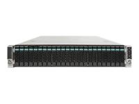 JBOD2224S2DP Rack (2U) Schwarz Disk-Array