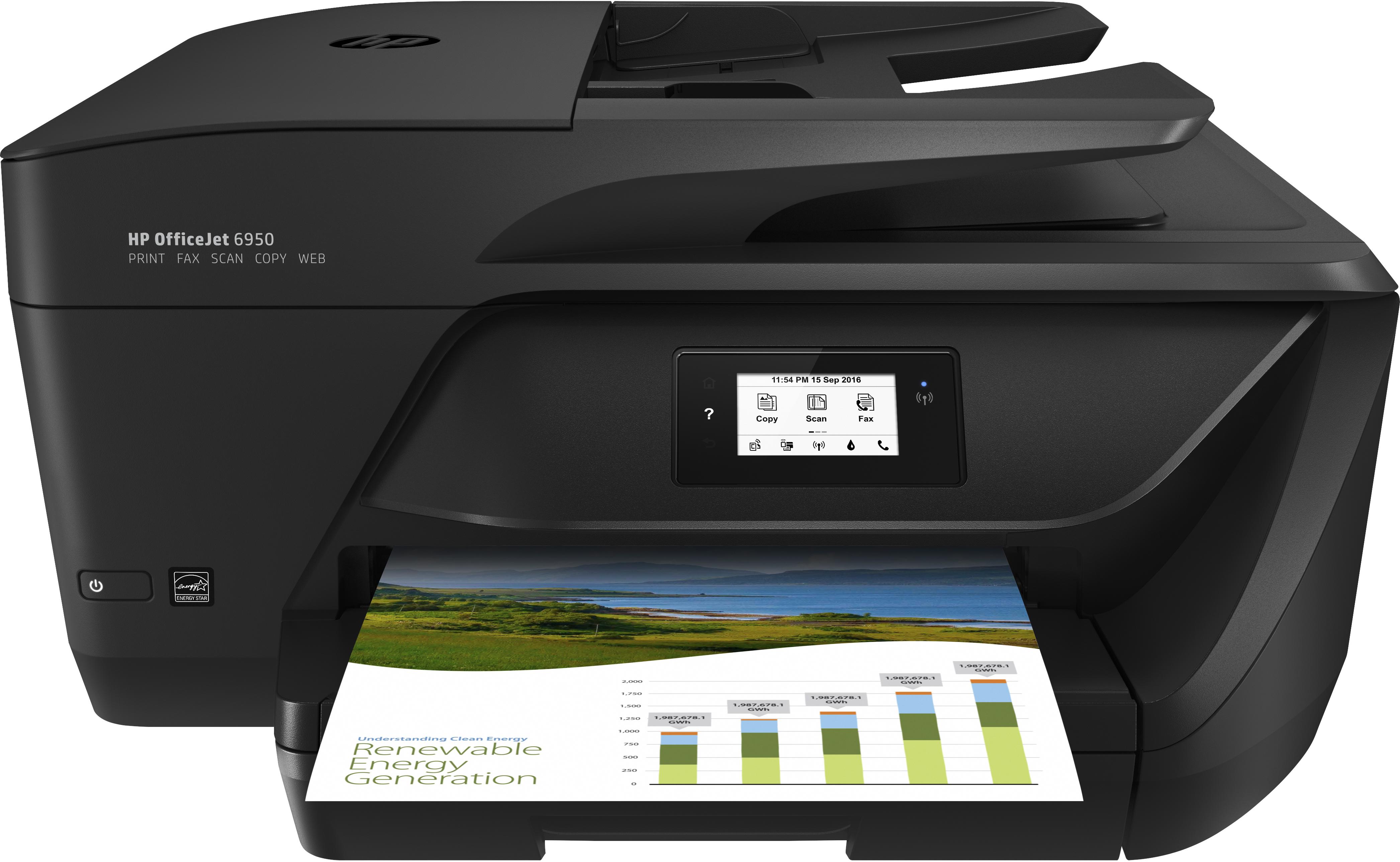 HP Officejet 6950 All-in-One - Multifunktionsdrucker - Farbe