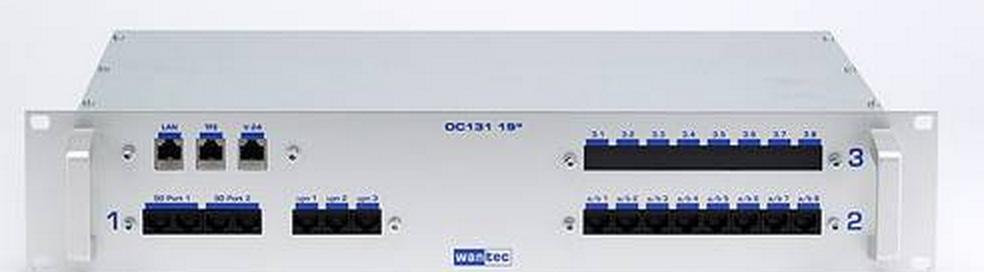 WANTEC 2085 - Silber - Metall - Rackeinbau - 2U - 482,6 mm - 88 mm