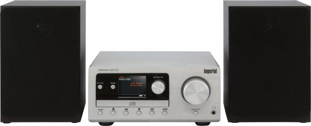 Imperial DABMAN i300 CD - Persönlich - Analog & Digital - DAB+,FM - 87.5 - 108 MHz - 174 - 240 MHz - 40 W