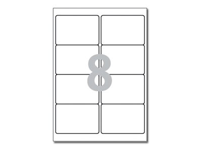 Avery Zweckform  Weiß - 99.1 x 67.7 mm 800 Etikett(en) (100 Bogen x 8)