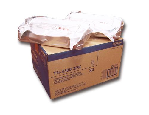 Brother TN-3380 Twin Lasertoner 16000Seiten Schwarz