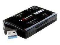 Delock USB 3.0 Card Reader All in 1 - Kartenleser - All-in-one (Multi-Format)