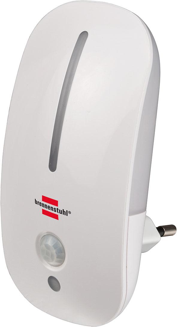Brennenstuhl 1173280 - Stecker-Nachtlicht - Weiß - Kinderzimmer - Wohnzimmer - IP20 - LED - 3000 K