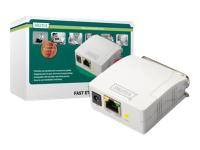 Fast Ethernet Print Server, Parallel