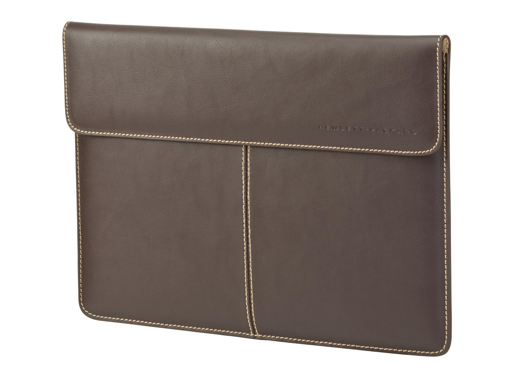HP 33.8 cm (13.3) Premium Leather Sleeve 13.3Zoll Ärmelhülle Braun