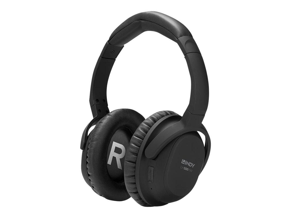 Lindy LH500XW - Kopfhörer - kabellos - Bluetooth - ohrumschließend