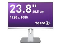2462W PV - DP/HDMI GREENLINE PLUS 23.8Zoll Full HD A-MVA Schwarz - Silber Computerbildschirm