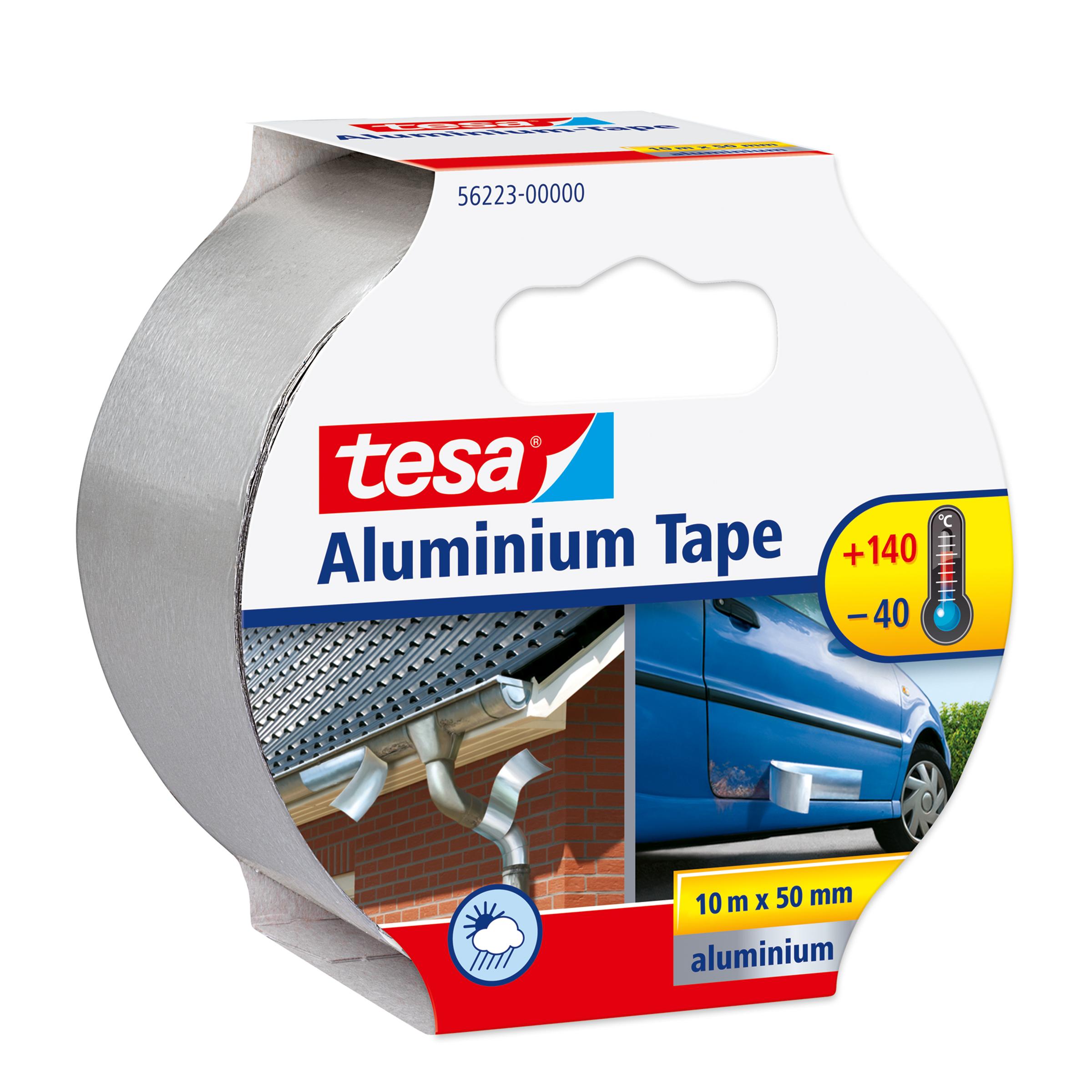 Tesa 56223-00000-01 - Silber - Reparatur - Aluminium - 10 m - 50 mm