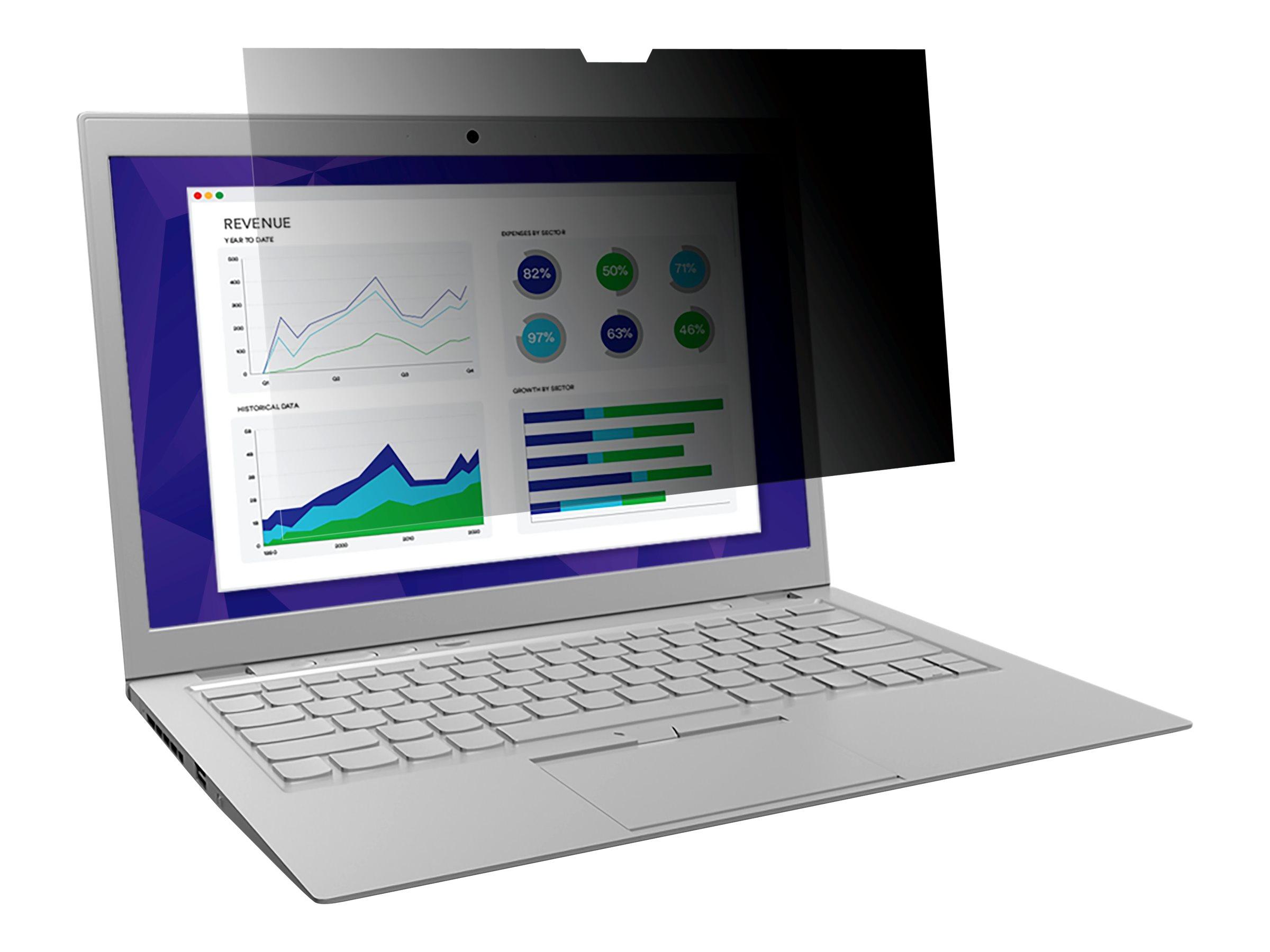 "3M Blickschutzfilter for Dell 13.3"" Infinity Display Laptops with COMPLY Attachment System - Blickschutzfilter für Notebook - 33,8 cm Breitbild (13,3 Zoll Breitbild)"