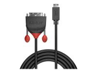 36282 2m HDMI Type C (Mini) DVI-D Schwarz Videokabel-Adapter