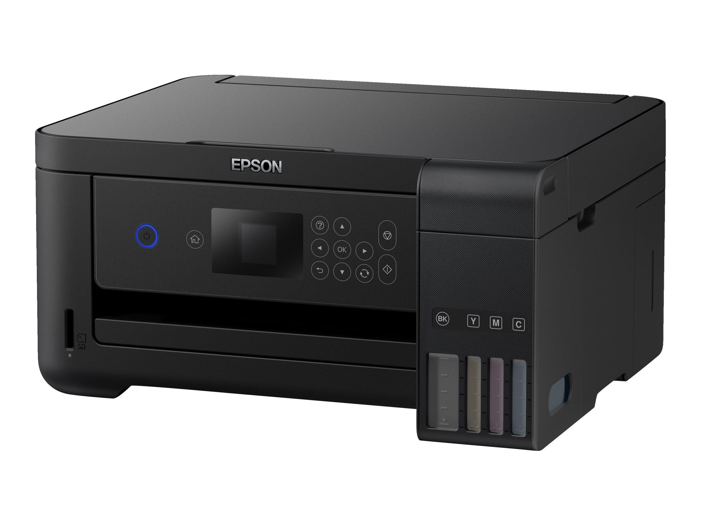 Epson EcoTank ET-2750 - Multifunktionsdrucker - Farbe - Tintenstrahl - A4/Legal (Medien)