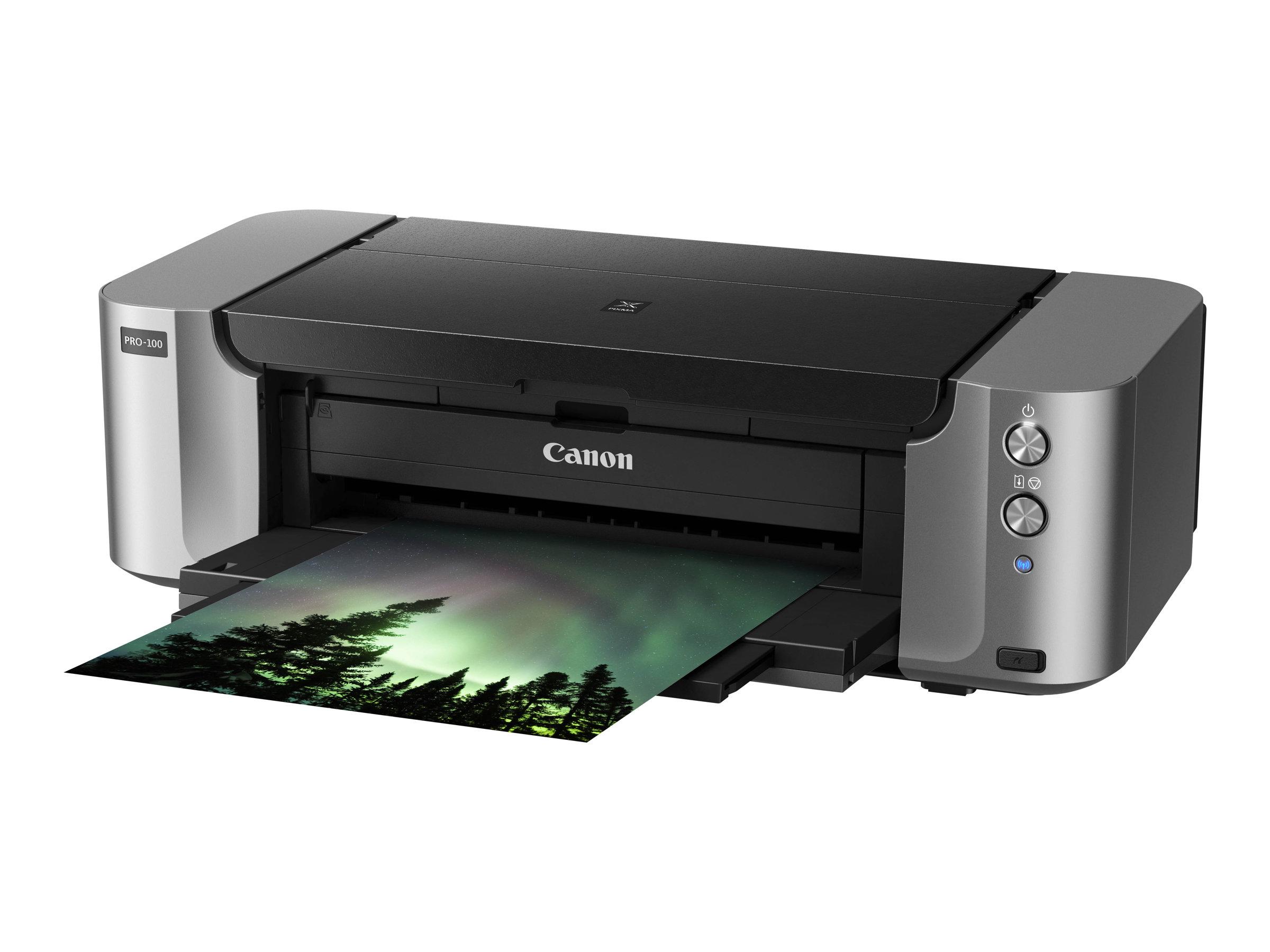 Vorschau: Canon PIXMA PRO-100S - Drucker - Farbe - Tintenstrahl - A3 Plus, 360 x 430 mm bis zu 1.5 Min./Seite (Farbe)