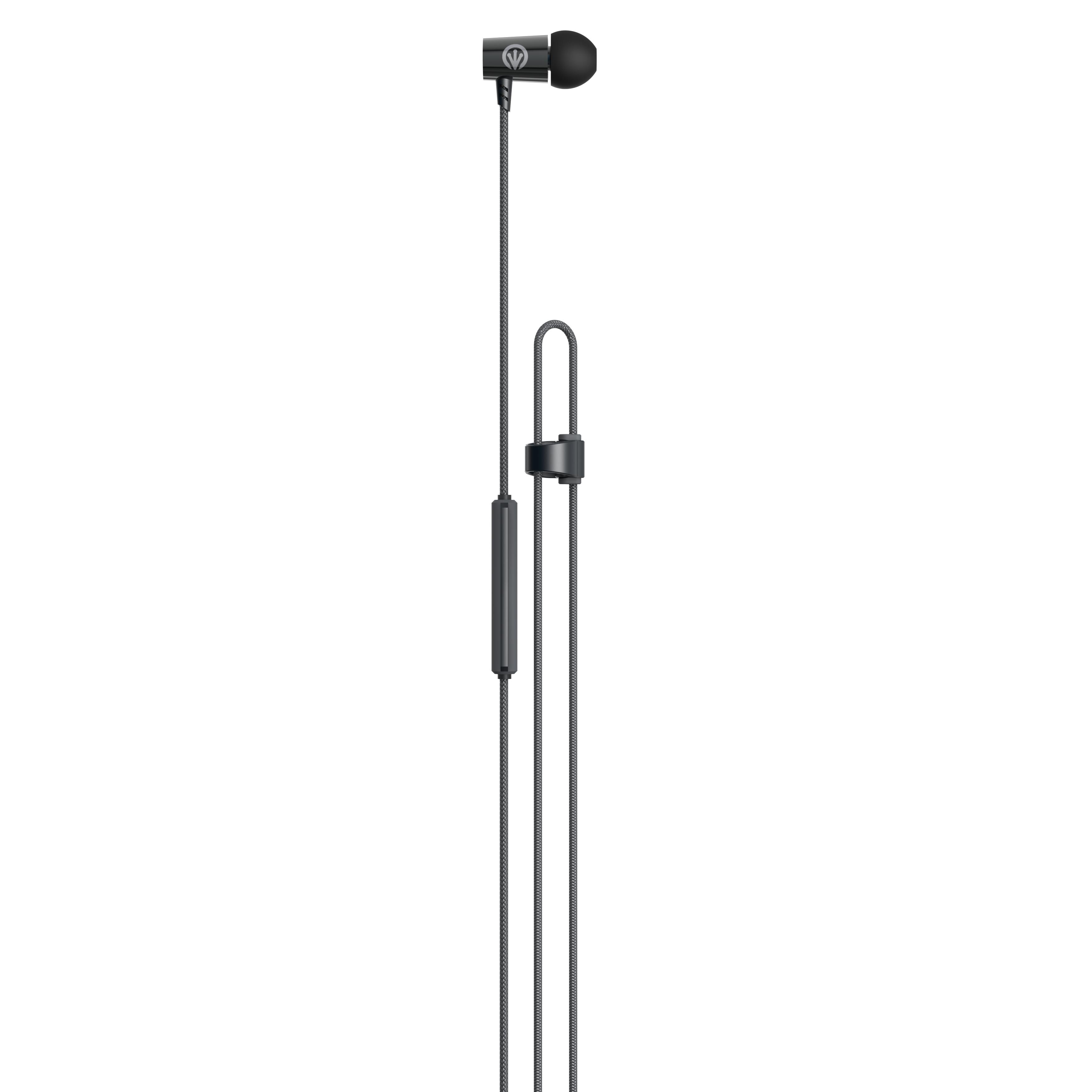 iFrogz Luxe air im Ohr Binaural Verkabelt Schwarz - Grau Mobiles Headset