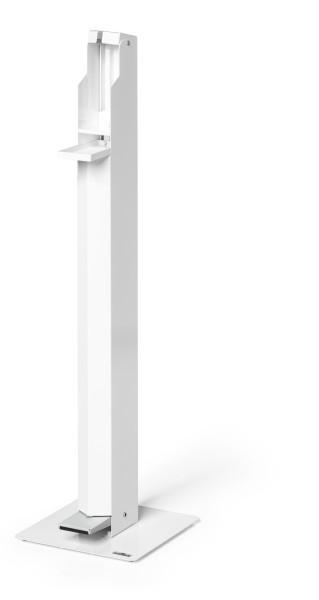Durable 589502 - Weiß - Stahl - 1 Stück(e) - 30 cm - 30 cm - 1132 mm
