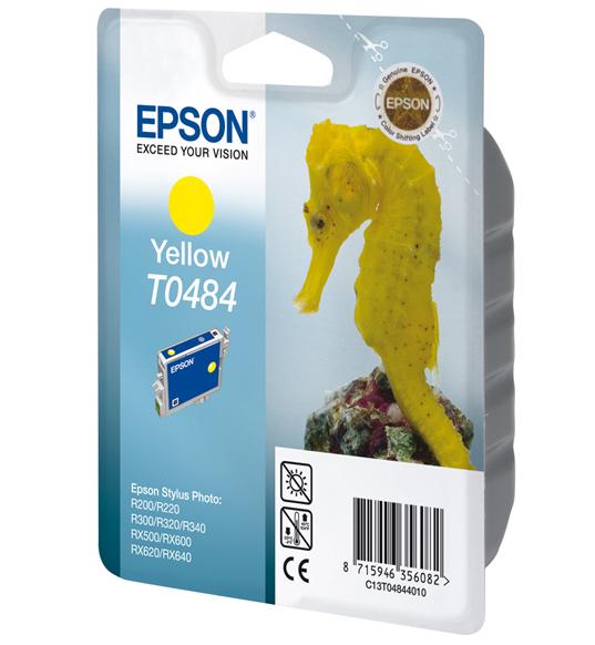 Epson T0484 - Druckerpatrone - 1 x Gelb