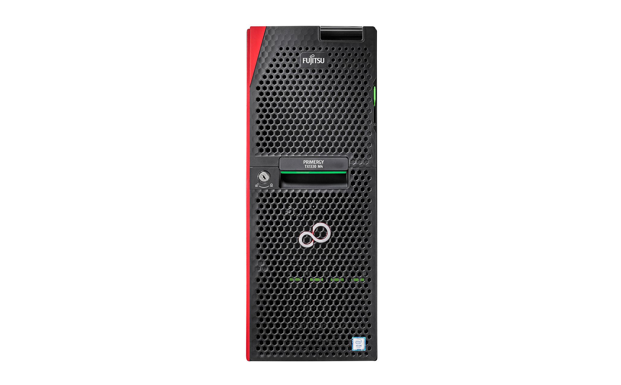 Fujitsu TX1330M4 XEON E-2236 16GB 8SFF 450W - 3,4 GHz - 16 GB