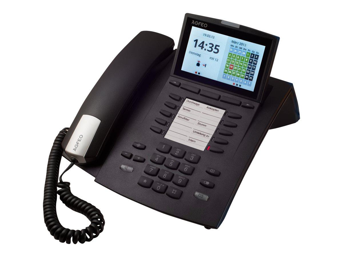 AGFEO ST 45IP - VoIP-Telefon - Schwarz