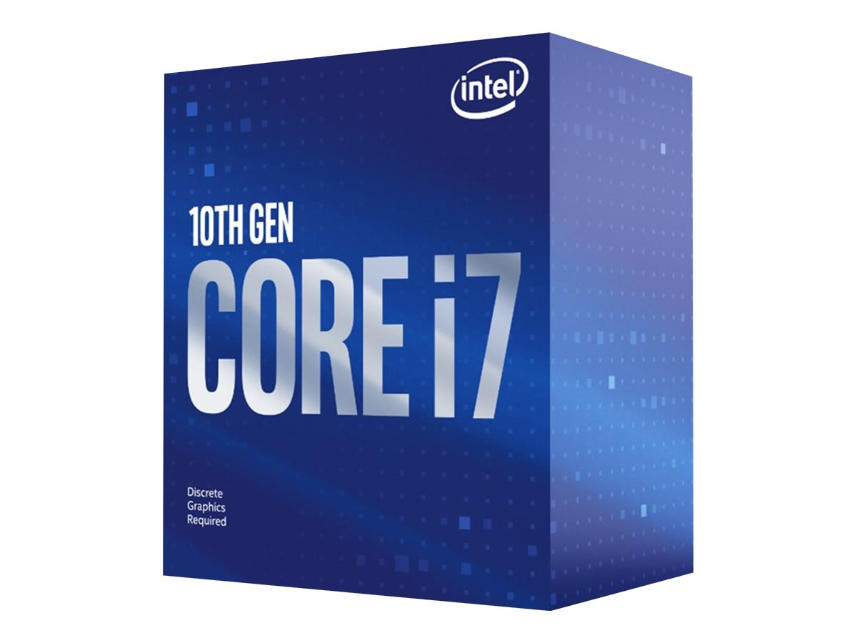 Intel Core i7 10700 - 2.9 GHz - 8 Kerne - 16 Threads