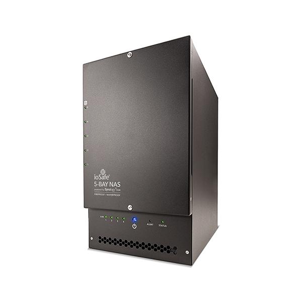 ioSafe X517 - 5 TB - Festplatte - SATA - Tower - Schwarz