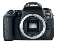 EOS 77D SLR-Kameragehäuse 24.2MP CMOS 6000 x 4000Pixel Schwarz