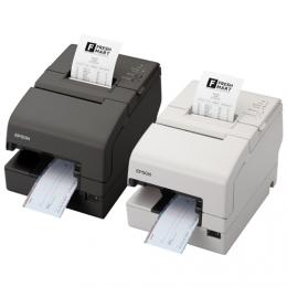 Epson TM-H 6000IV USB Ethernet Cutter weiß - Drucker - Nadel/Matrixdruck