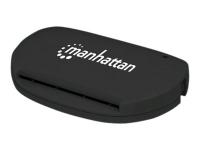 102032 Smart-Card-Lesegerät Schwarz USB 2.0
