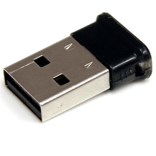 StarTech.com Mini USB-Bluetooth 2.1 Adapter - Klasse 1 EDR Wireless Netzwerkadapter