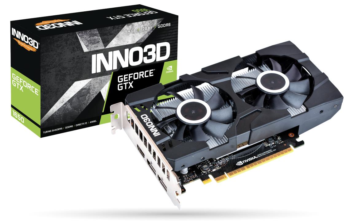 Inno3D GeForce GTX 1650 Twin X2 OC - Grafikkarten