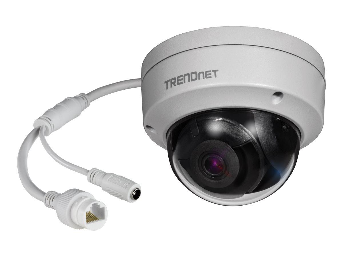 TRENDnet TV IP319PI - Netzwerk-Überwachungskamera - Kuppel - Außenbereich, Innenbereich - wetterfest - Farbe (Tag&Nacht)