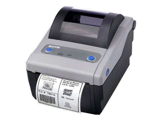 SATO CG 412 - Etikettendrucker - TD/TT - Rolle (10,7 cm)