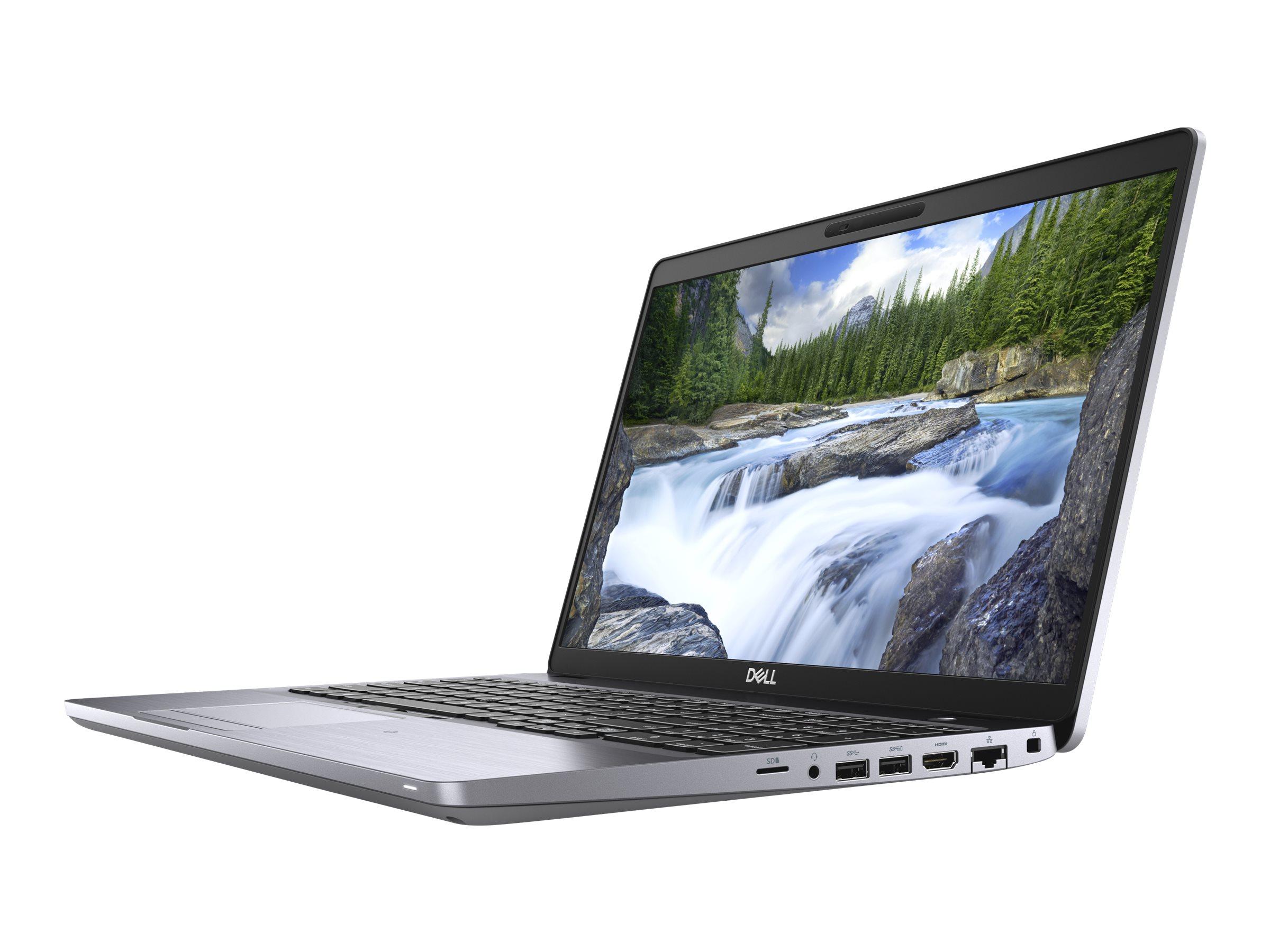 "Dell Latitude 5510 - Core i5 10210U / 1.6 GHz - Win 10 Pro 64-Bit - 8 GB RAM - 256 GB SSD NVMe - 39.491 cm (15.6"")"