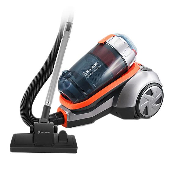 Emerio VCE-111504.1 - 600 W - 3 l - HEPA - Filterung - 78 dB - Grau - Orange - Edelstahl