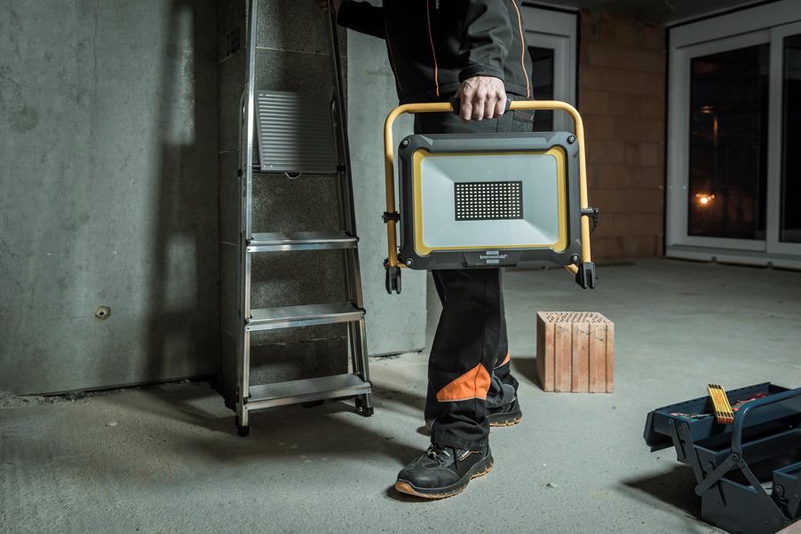 Brennenstuhl 1171250033 - Handbeleuchtung für den Außenbereich - Schwarz - Gelb - Metall - Kunststoff - IP65 - LED - 100 W