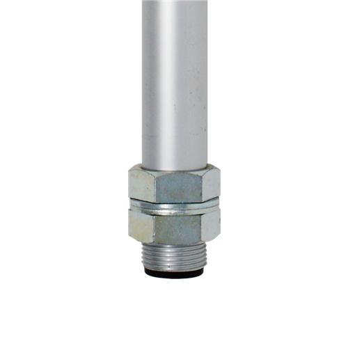 Patlite POLE22-0500AT - Montageset - Stange - Aluminium - Aluminium - PATLITE LR4-PJ/QJ - LR5-PJ/KT - LR6-PJ/QJ - LR7-KT - 500 mm
