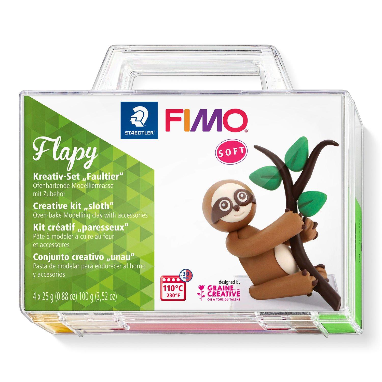 Vorschau: STAEDTLER FIMO Flapy - Knetmasse - Beige - Braun - Schokolade - Grün - Erwachsene - 4 Stück(e) - 4 Farben - 110 °C