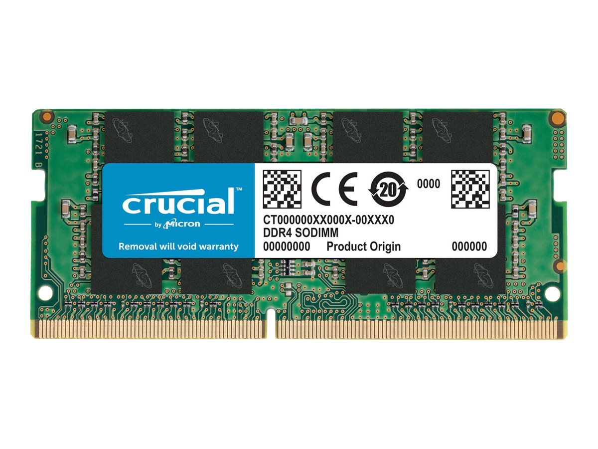 Micron Crucial - DDR4 - 8 GB - SO DIMM 260-PIN - 2400 MHz / PC4-19200