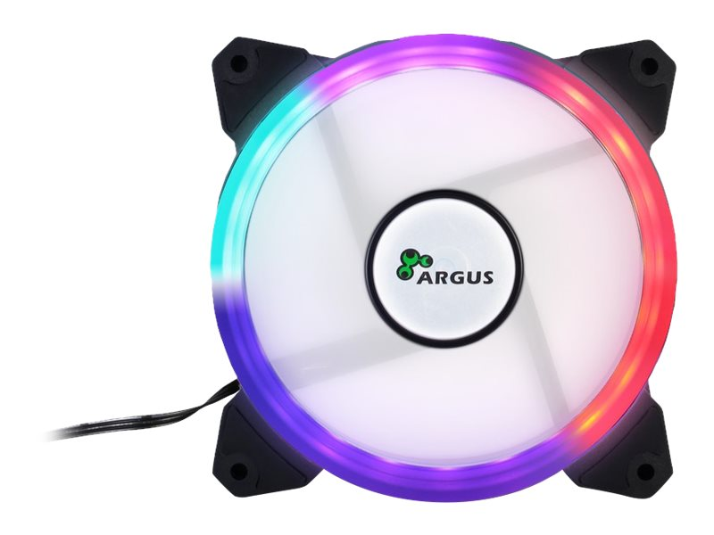 Inter-Tech Argus RS01 RGB - Geh?usel?fter
