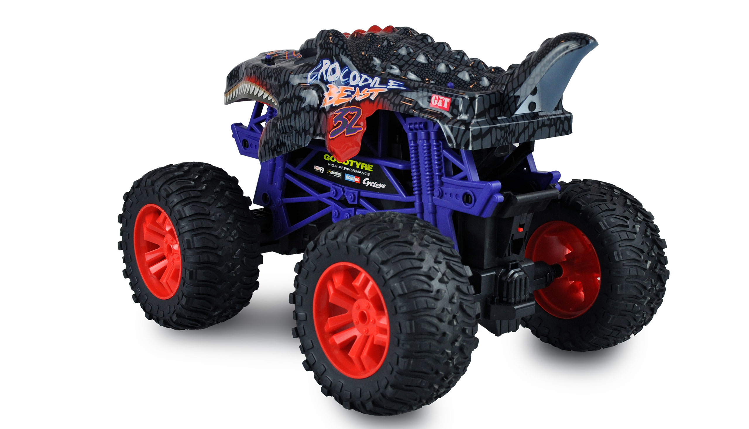 Amewi Crocodile Beast Big - Monstertruck - 1:16 - Junge - 14 Jahr(e) - 1200 mAh - 1,65 kg