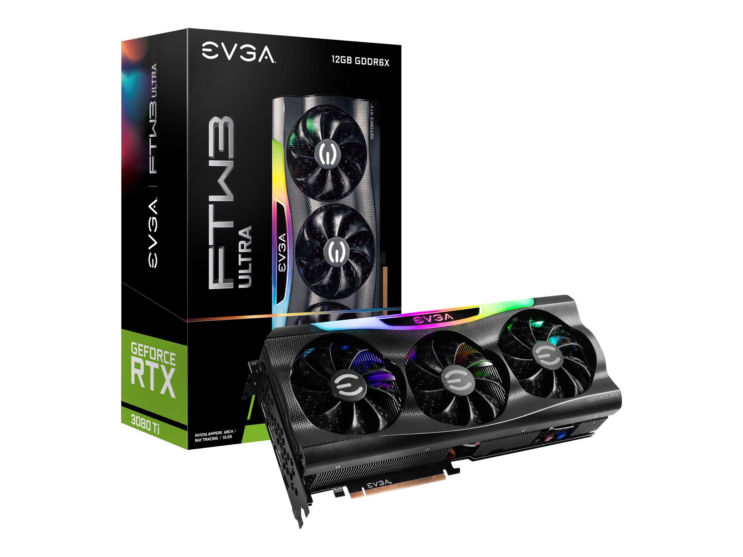 EVGA GeForce RTX 3080 Ti FTW3 ULTRA GAMING - Grafikkarten