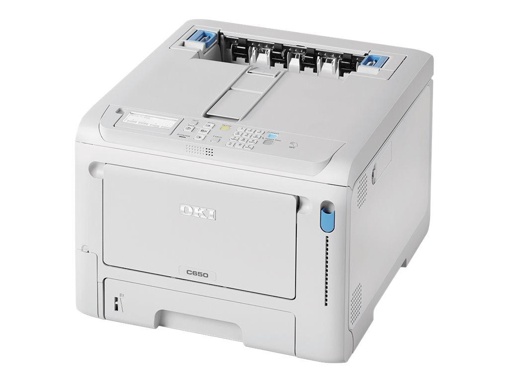Vorschau: OKI C600 Series C650DN - Drucker - Farbe - Duplex - LED - A4 - 1200 x 1200 dpi - bis zu 35 Seiten/Min. (einfarbig)/