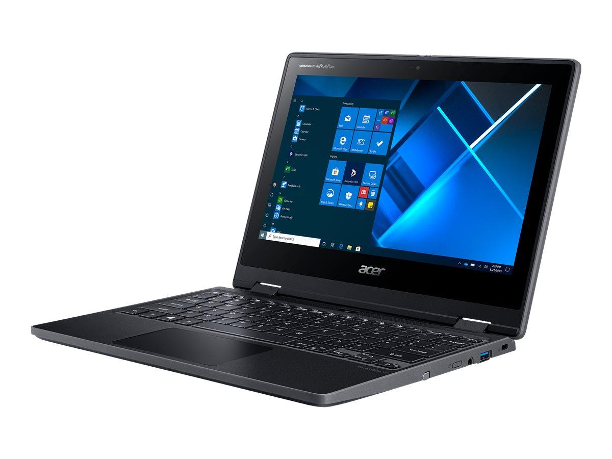 "Acer TravelMate Spin B3 TMB311RN-31-C0X5 - Flip-Design - Celeron N4120 / 1.1 GHz - Win 10 Pro 64-bit National Academic - 4 GB RAM - 64 GB eMMC - 29.46 cm (11.6"")"
