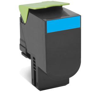 Lexmark 80C2XCE Laser cartridge 4000Seiten Cyan Lasertoner / Patrone