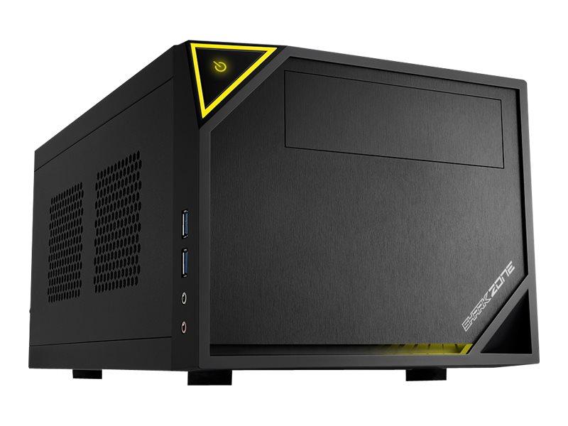 Sharkoon SHARK ZONE C10 - Tower - Mini-ITX - ohne Netzteil (ATX12V / SFX12V)