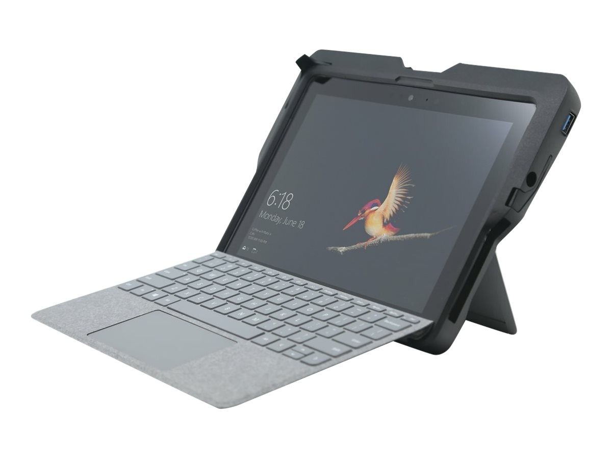 Vorschau: Kensington BlackBelt Rugged Case with Integrated CAC Reader for Surface Go and Surface Go 2 (K97320WW)