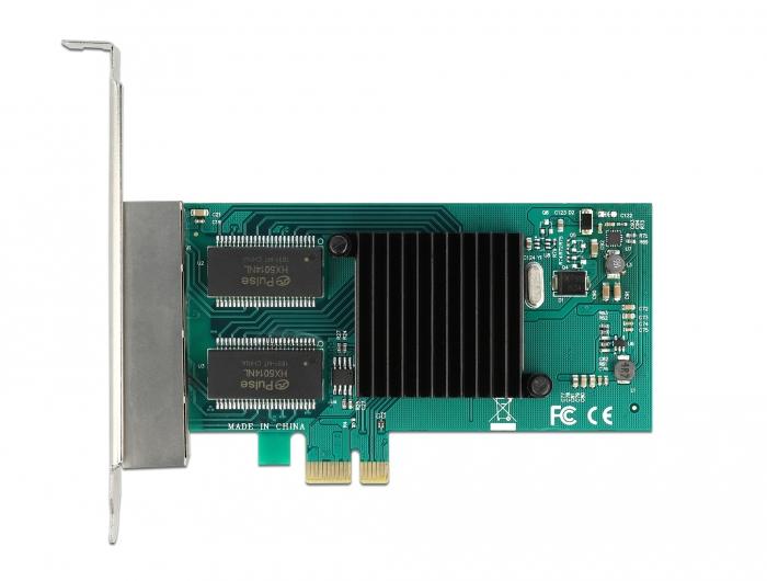 Delock 88504 - Eingebaut - Verkabelt - PCI Express - Ethernet - 4000 Mbit/s